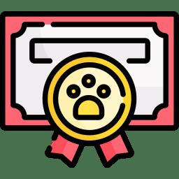 dog award icon