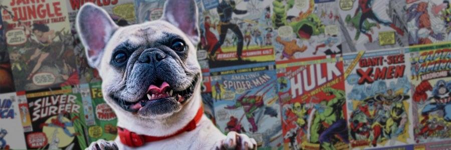 comic book dog