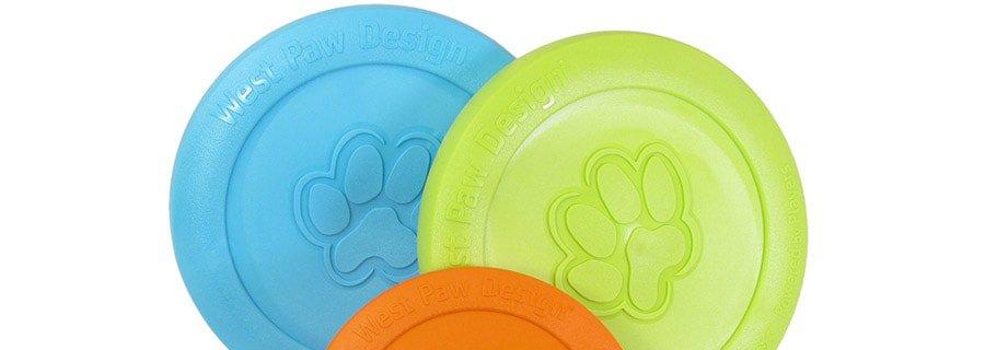 tough dog frisbee