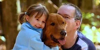 rescue dog thumb