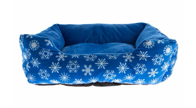 Christmas dog beds