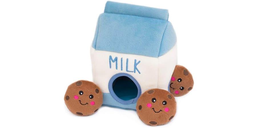 cookies milk toy