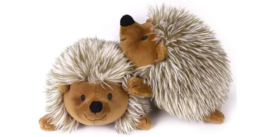 hedgehog dog toy
