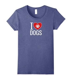 heather dog t-shirt
