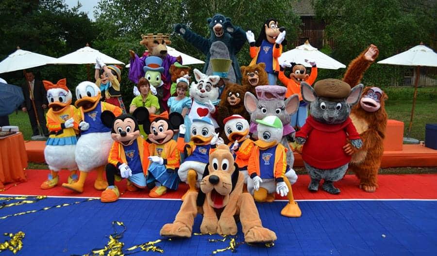disney mascots