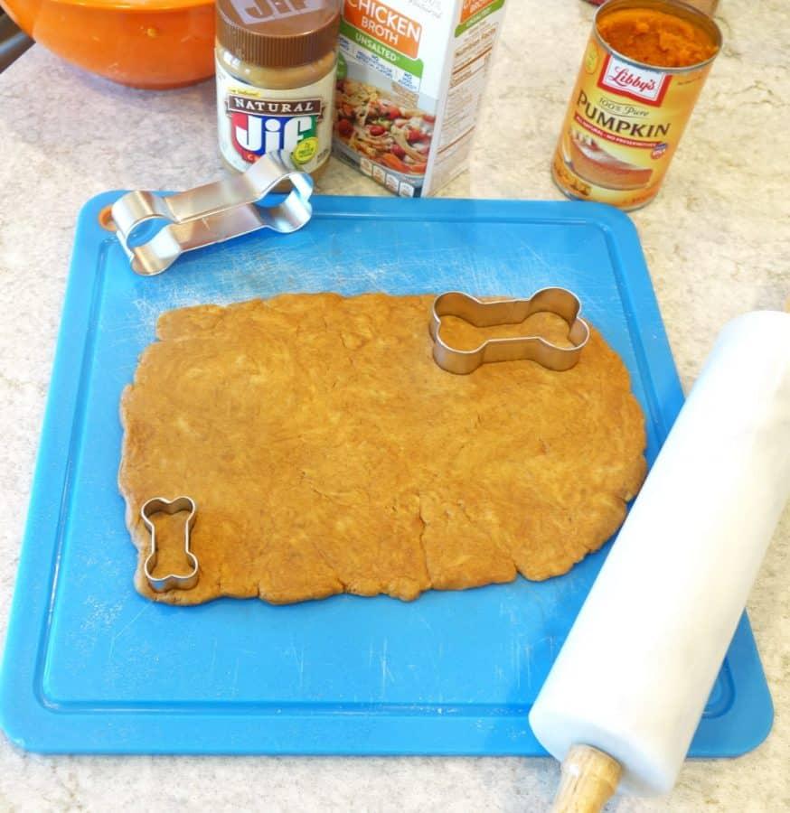 pumpkin dog treat recipe steps
