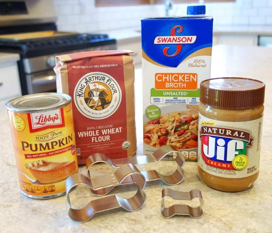 Pumpkin dog treats ingredients