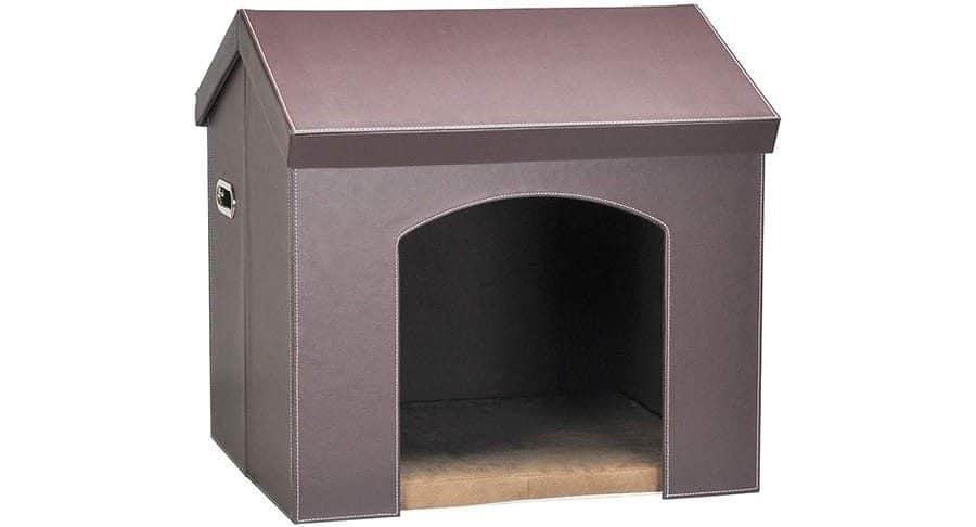 Leather Dog House
