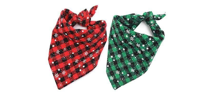 Dog Christmas bandana