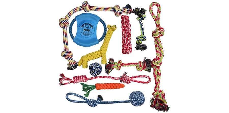Rope toy set