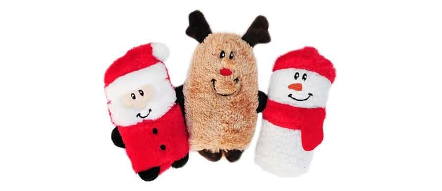 Holiday squeaky toys