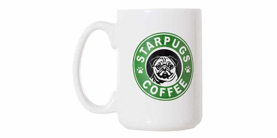 Pug Coffee Cup