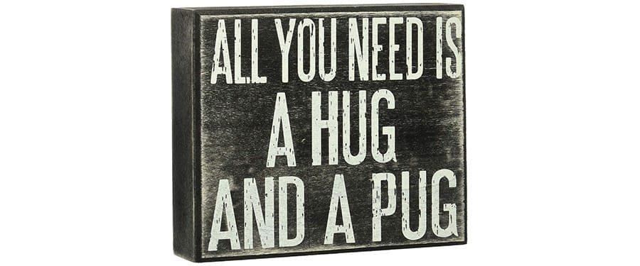 Pug sign