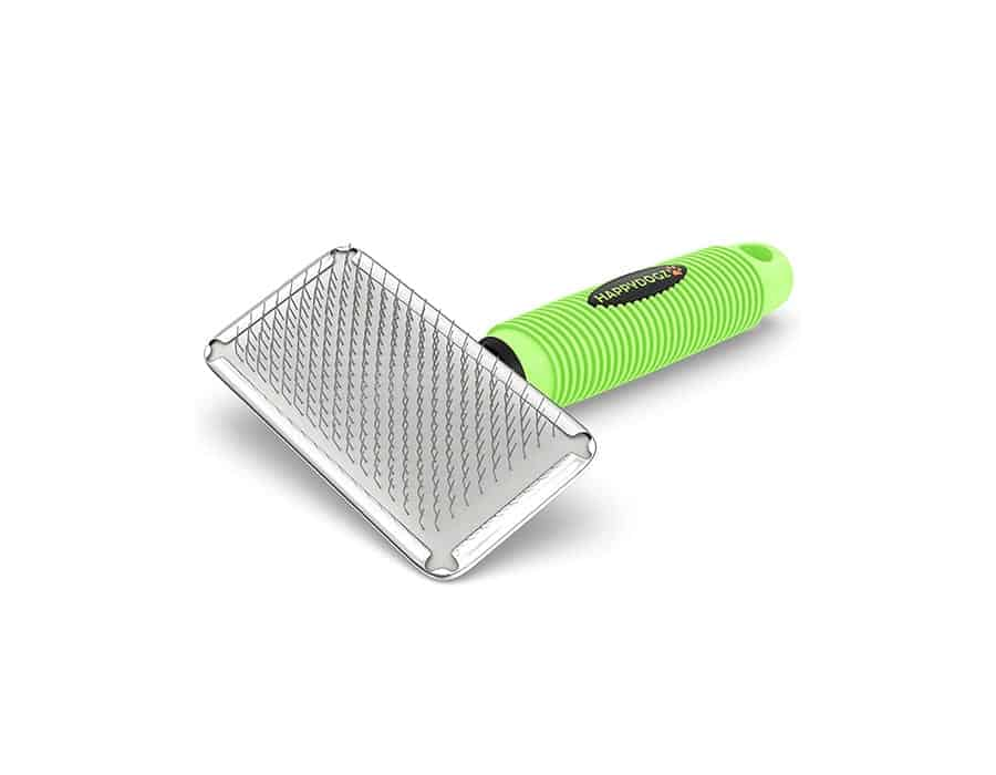 green slicker brush