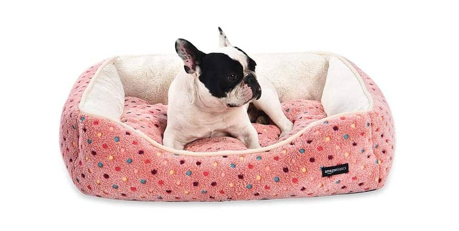 Sweet dog bed