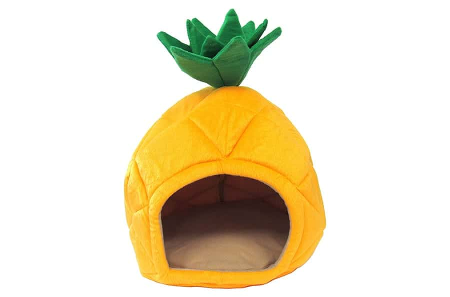 Funny dog beds pineapple