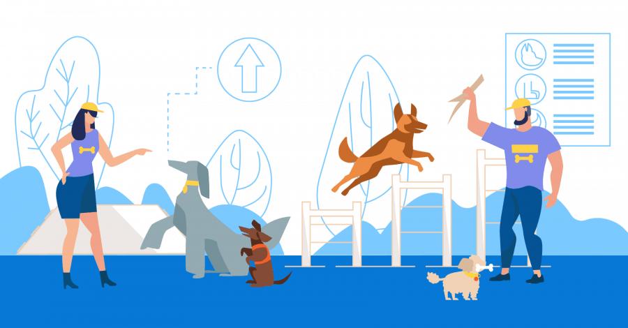 dog tricks the ultimate list illustration
